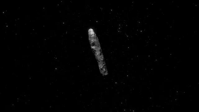 Watch Animation of 'Oumuamua entering and leaving the solar system from 2016-2020 GIF by Dave Mosher (@davemosher) on Gfycat. Discover more animations, asteroids, comets, esa, oumuamua, space GIFs on Gfycat