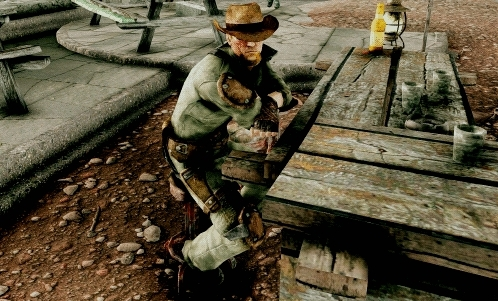 fallout, fallout new vegas, fnv, mods, russell, I tried my hand at making a gif. Here's Russell. Don't ask h GIFs