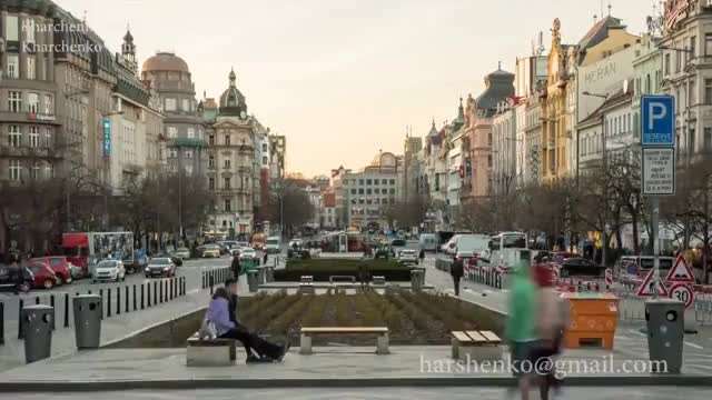 Watch and share Prague, Czech Republic. 2017. Timelapse, Hyperlapse GIFs on Gfycat