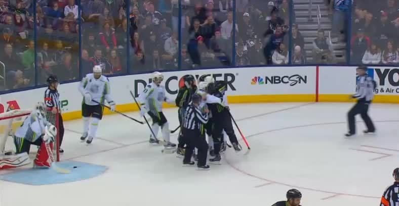 sportsarefun, Players get in a scrum at the All-Star Game (reddit) GIFs