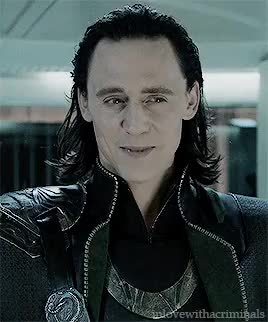 Watch and share Loki Laufeyson GIFs and Tom Hiddleston GIFs on Gfycat