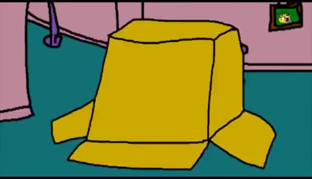 Watch throwing homer GIF on Gfycat. Discover more simpsons GIFs on Gfycat