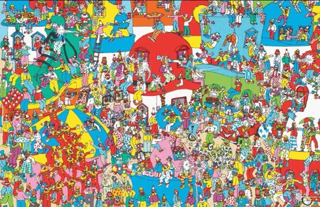Watch and share Wheres Waldo GIFs on Gfycat