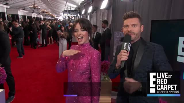 Watch camila GIF on Gfycat. Discover more 2019 Grammys, Awards, Celebrity Gossip, Celebrity News, E! Live from the Red Carpet, E! News, Grammys, Interviews, Music, Red Carpet, camila cabello, celebs GIFs on Gfycat