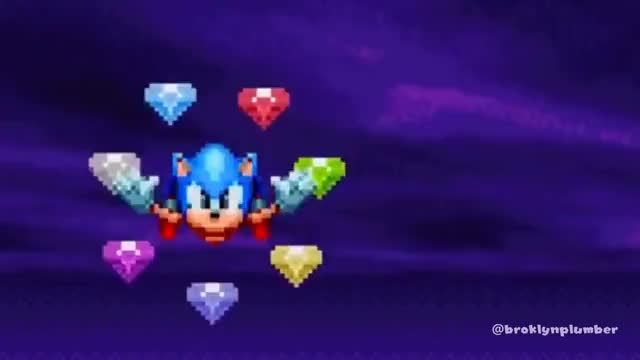 you mean the chaos emeralds Gif Find