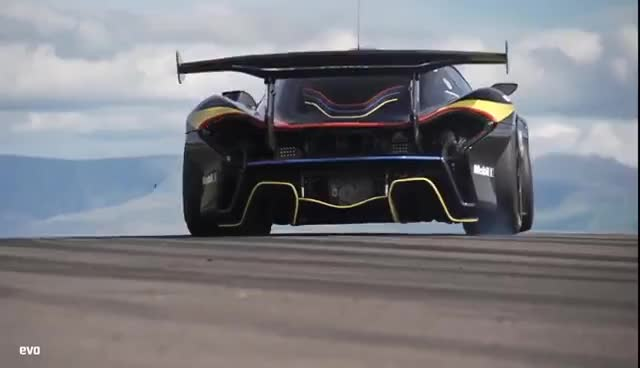 mclaren p1 gtr | evo leaderboard gif | find, make & share gfycat gifs