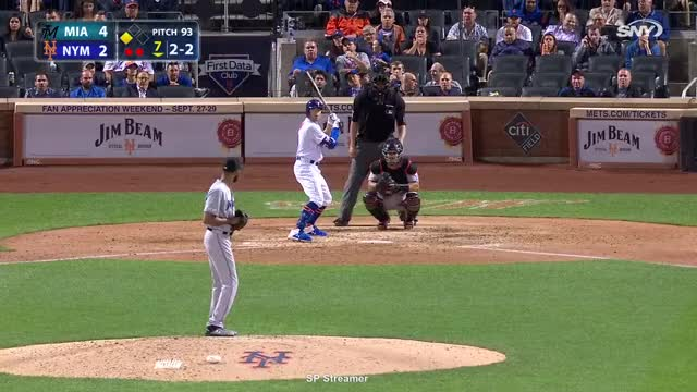 Watch and share Miami Marlins GIFs and New York Mets GIFs by spstreamer on Gfycat