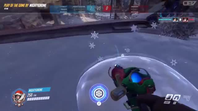 Meis Snowball Offensive 2017 Overwatch Gif Find Make Share