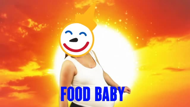 dance, delicious, food, food baby, full, happy, hungry, jack in the box, stuffed, yum, Food Baby Full Hungry GIFs
