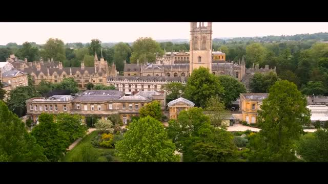 Watch Oxford University by drone GIF on Gfycat. Discover more related GIFs on Gfycat