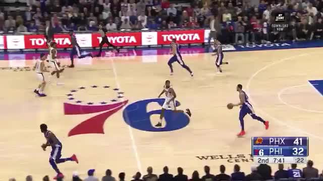 Watch and share Philadelphia 76ers GIFs and Phoenix Suns GIFs by Ben Mallis on Gfycat
