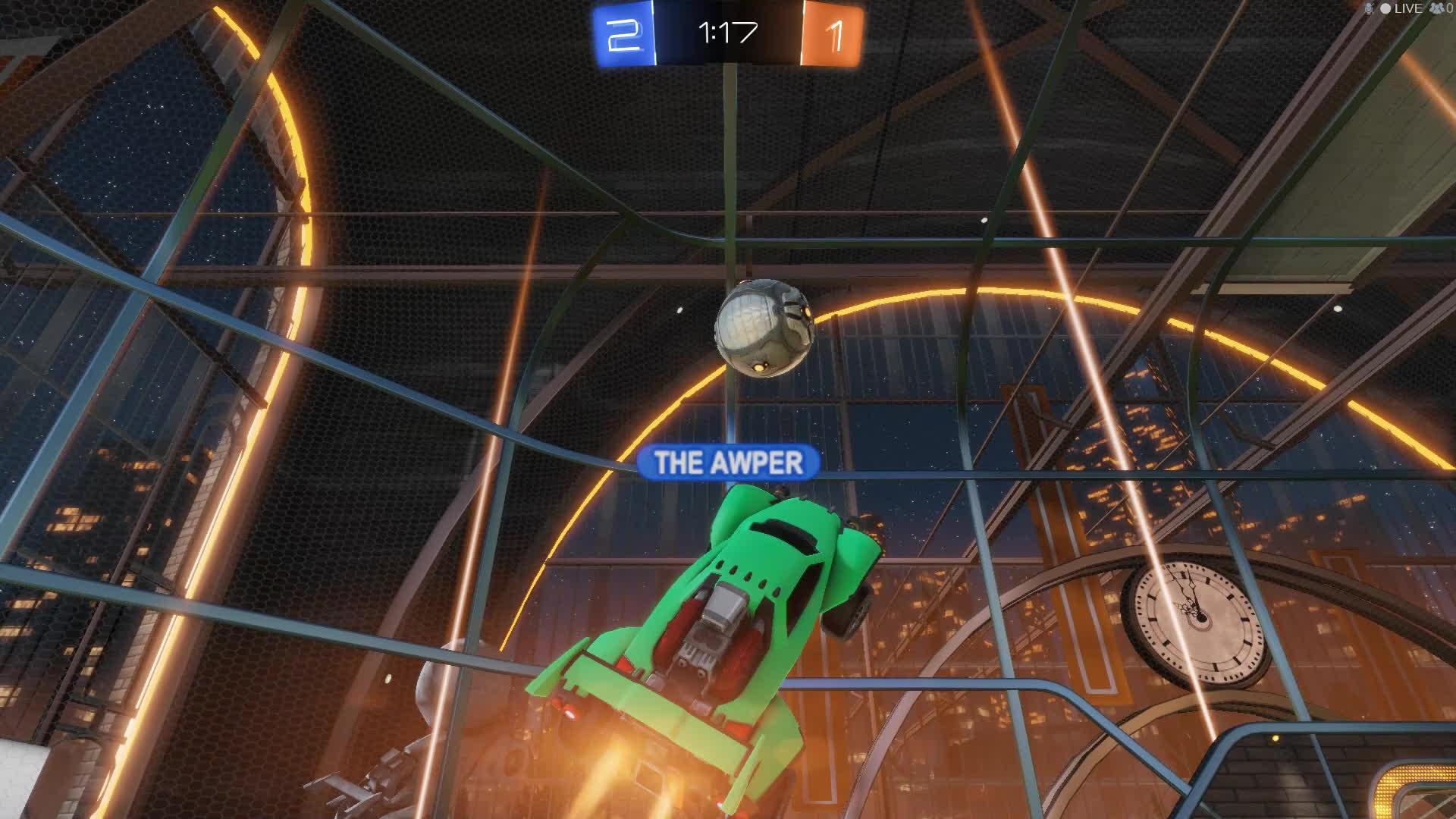 RocketLeague, videogamedunkey, 7 bumps, 18 misses, 100% skill GIFs