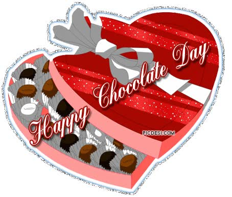 Watch and share Chocolate Day Heart Shape GIF animated stickers on Gfycat