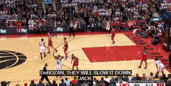 Watch and share Derozan 4th GIFs by blakemurphyodc on Gfycat