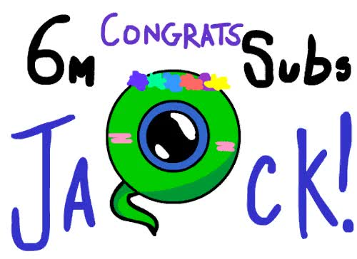 Watch and share Congratulations On Reaching 6 Million Subs Therealjackseptic GIFs on Gfycat