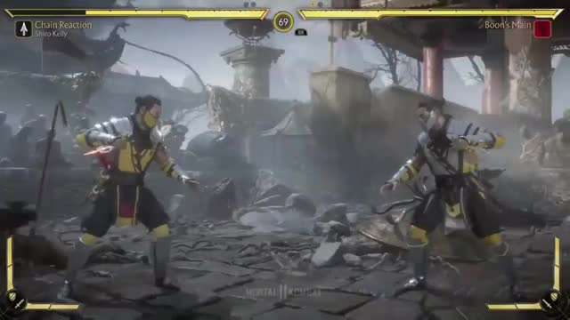 Watch and share MK11 - Teleport Cancel GIFs by 76sup on Gfycat