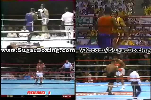 Watch SugarBoxing Jab - Low Right Hand - Left Hook combo Mike Tyson GIF by @sugarboxing on Gfycat. Discover more related GIFs on Gfycat