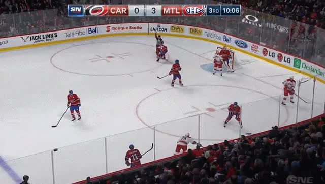 Watch and share Subban Trips On The Referee & Gets Laughed At By Plekanec @Dr_Habs GIFs by eotp on Gfycat
