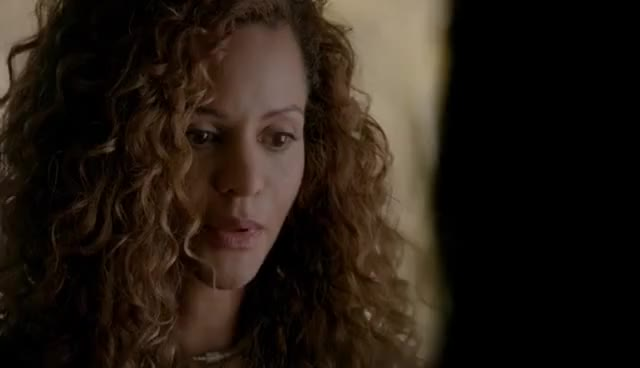 Watch and share The Vampire Diaries: 8x12 - Abby Bennett Comes To Visit Bonnie For Enzo's Death [HD] GIFs on Gfycat