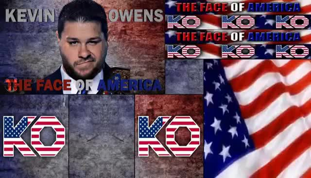 Watch and share WWE Kevin Owens 2017 Graphics Pack GIFs on Gfycat
