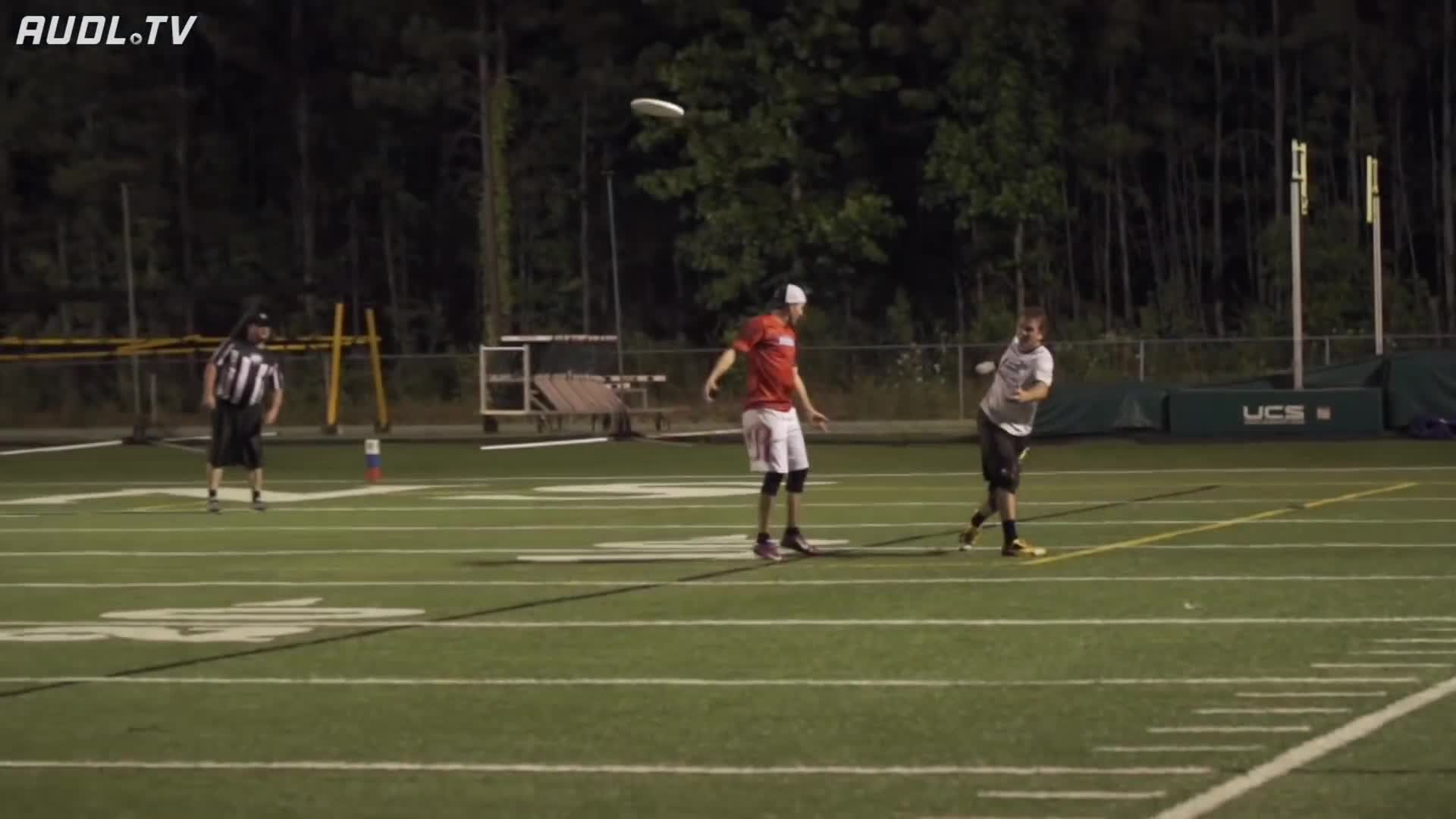 Sports, TheAUDLChannel, american ultimate disc league, audl, sports, theaudlchannel, ultimate, ultimate frisbee, Hunter Taylor Explodes for INT! GIFs