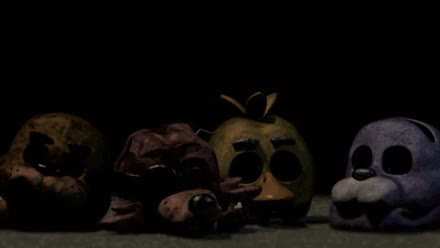 Fnaf 3 Spring Trap Chica The Chicken Bonnie The Bunny Foxy