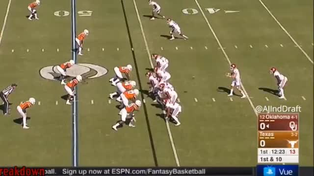 Watch and share Mayfield Arm Vs Texas 60+ Air Yards GIFs by dadeuceizloose on Gfycat