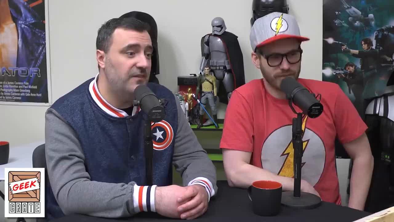 Plinkett, letter, media, podcast, red, redlettermedia, The Nerd Crew: Episode 2 GIFs