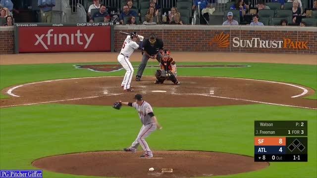 Watch and share Atlanta Braves GIFs and Tony Watson GIFs by DigitalOpticals on Gfycat