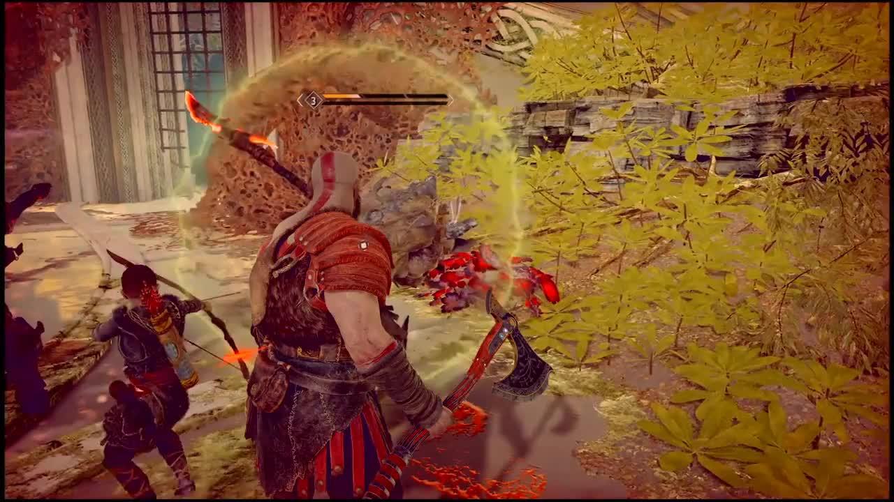 All Tags, GamePlay, Glitch, GodofWar, Kratos, PS4Share, bug, pataraven, God of War PS4 - Bug GIFs