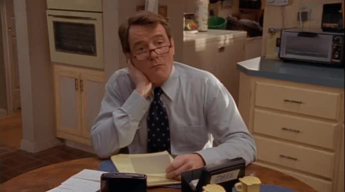bryan cranston, malcolm in the middle, nothing, I Got Nothing GIFs