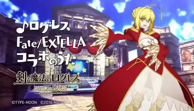 Watch and share 【Fate】nero Sings 【EXTELLA】 GIFs on Gfycat
