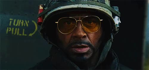 Watch and share Robert Downey Jr GIFs and Tropic Thunder GIFs on Gfycat