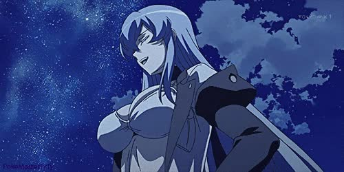 Posted  at 05:47am with Tagged as:#akame_anime#akame ga kill#esdeath#ice queen#my love#my gif#ahhaa had to make this sorr