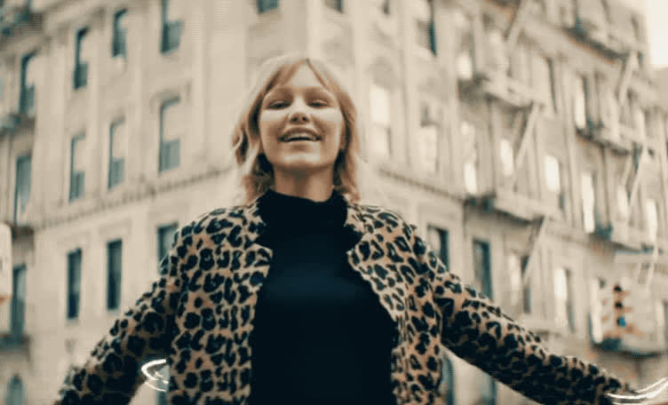 away, city, fall, grace, hit, mad, push, pushed, seriously, song, street, surprise, vanderwaal, wtf, Grace Vanderwaal - City song GIFs