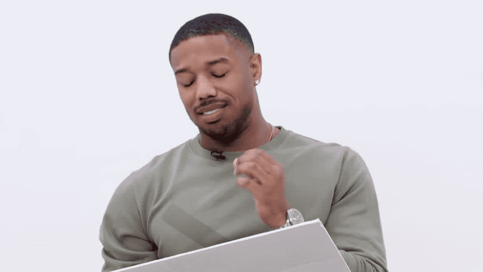 bakari, black panther, cast, confused, doesn't, idea, jordan, make, michael, most, no, nonsense, question, searched, sense, wait, way, web, what, wired, Michael Bakari Jordan is confused GIFs