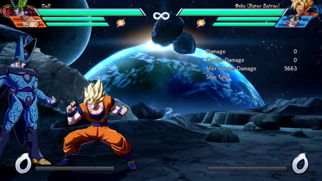 Watch Goku - Corner - 5M into 1-Super (most meter) - 5653 damage GIF by @robro on Gfycat. Discover more related GIFs on Gfycat