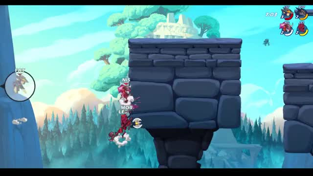 Watch and share Katar Nair GIFs and Brawlhalla GIFs by Fately on Gfycat