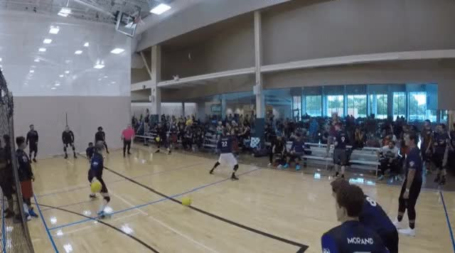 Watch and share Elite Dodgeball GIFs and Ish Blanco GIFs by VINNY DEL NEGRO on Gfycat