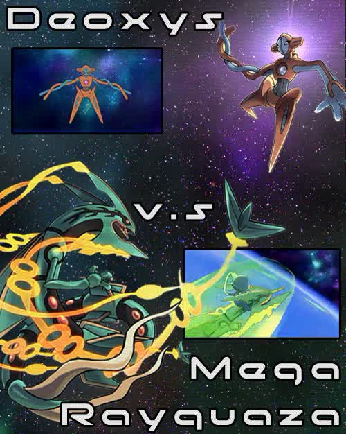 Watch and share Deoxys Normal Form GIFs and Deoxys Vs Rayquaza GIFs on Gfycat