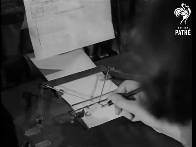 Watch and share The Telewriter, A Tool To Reproduce Handwriting By Converting The Manually Controlled Movements Of A Pen Into Signals That, After Transmi GIFs by GIFs For Everything on Gfycat
