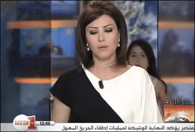 Watch news bloopers GIF on Gfycat. Discover more related GIFs on Gfycat