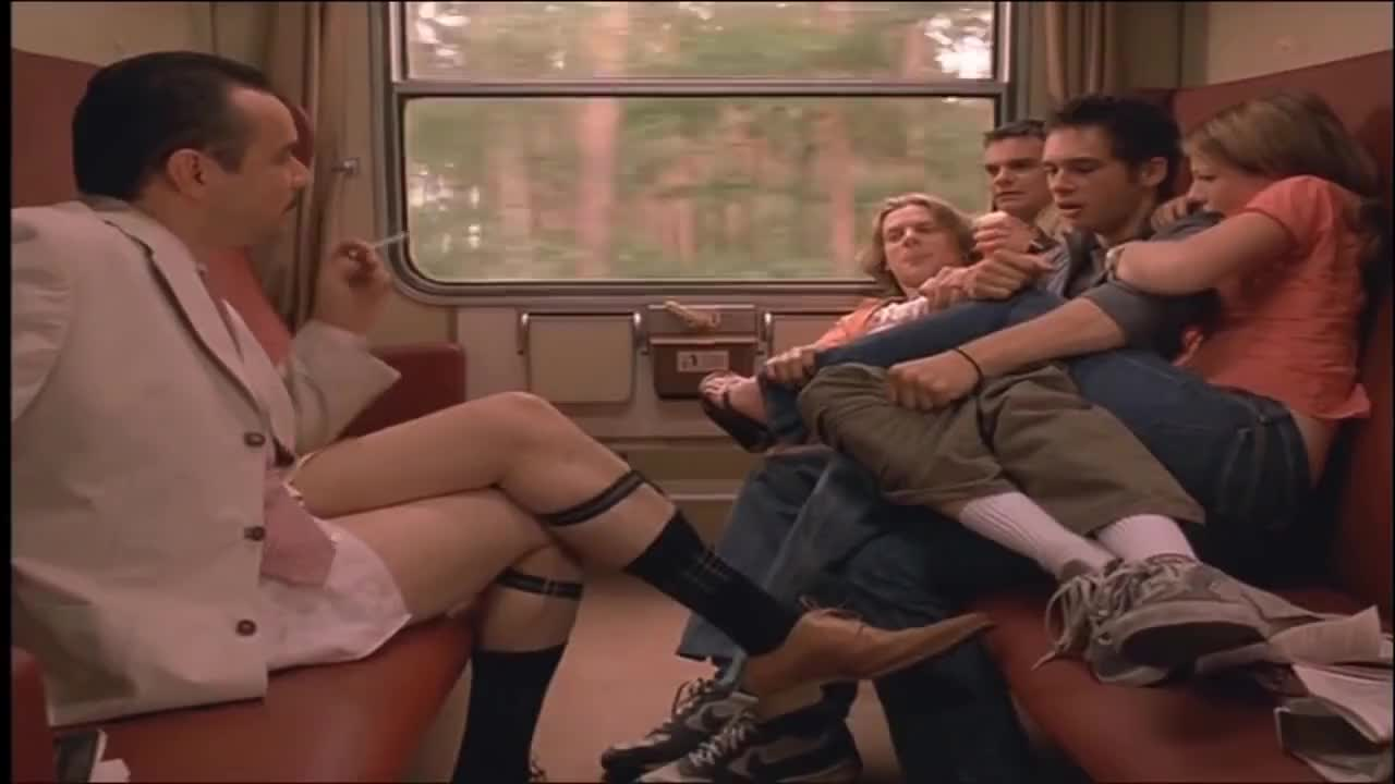 Cooper, Europe, Foreigner, Jenny, Train, eurotrip, fiona, harris, jamie, mi, miscusi, scott, scusi, thomas, (Mi Scusi) GIFs