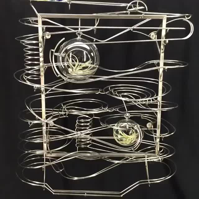 Watch and share Rolling Ball Sculpture By Tomharoldart GIFs by Jackson3OH3 on Gfycat
