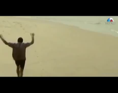 Watch and share Nana Patekar Happily Running Along The Seashore (Khamoshi) GIFs on Gfycat
