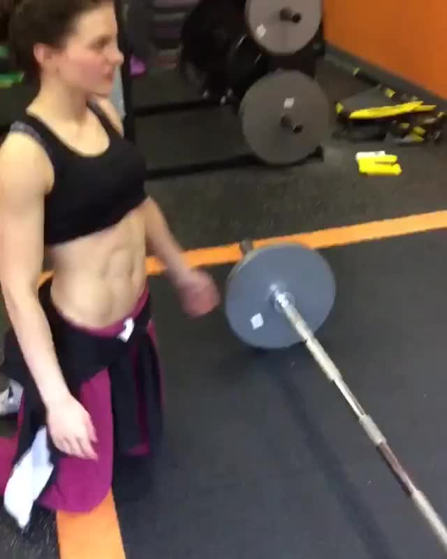 Watch and share Zoey(zoey Bodybuilding) GIFs by bubbascarecrow on Gfycat