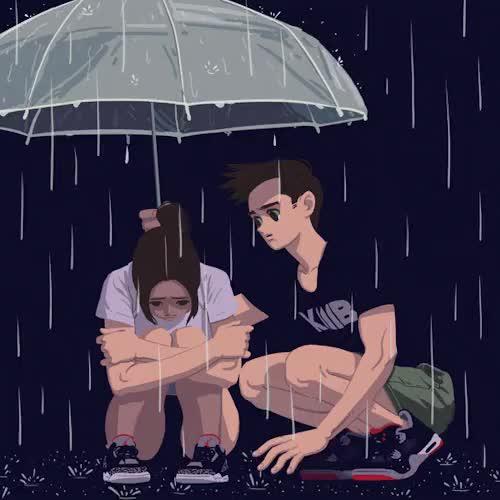 Watch and share Umbrella GIFs and Rain GIFs on Gfycat