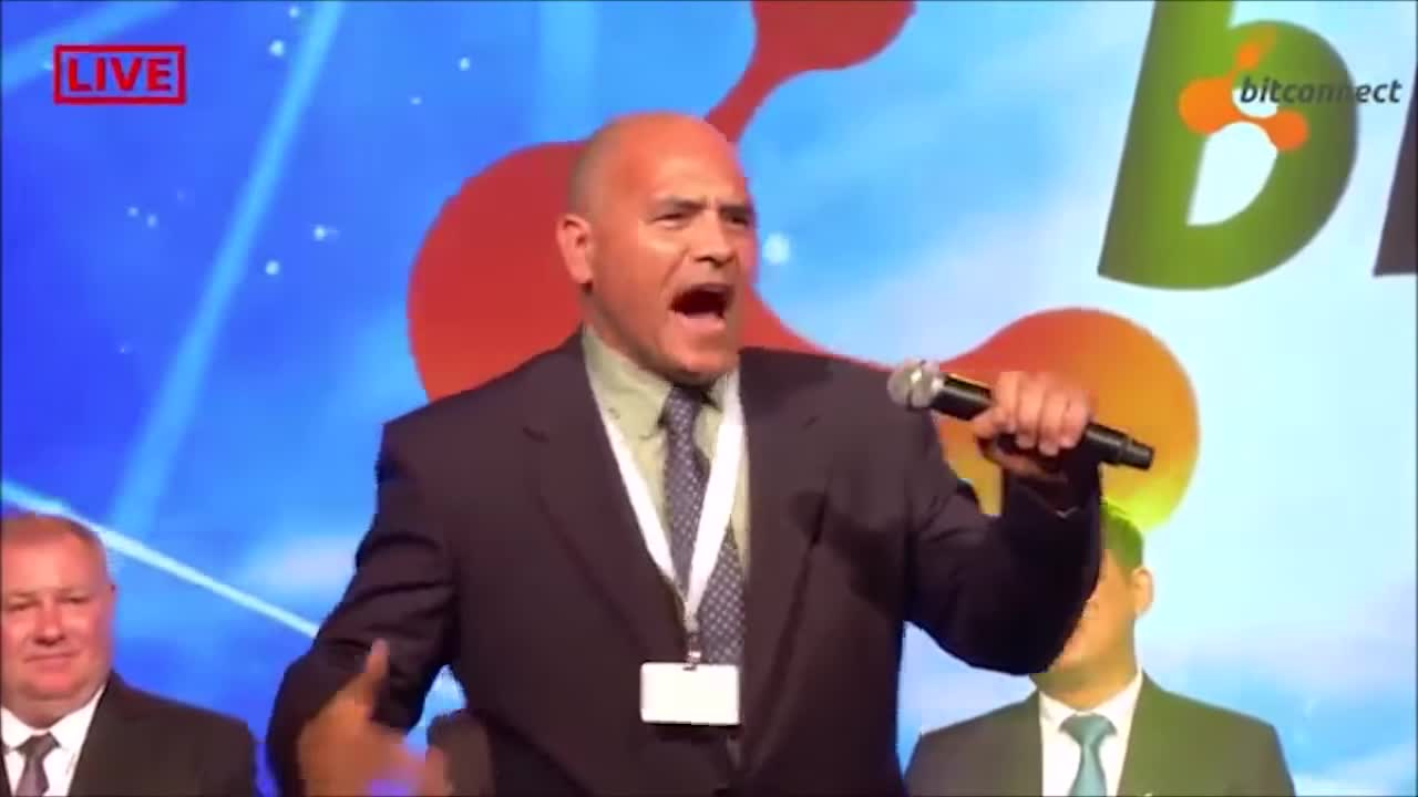 Crypto, bitconnect, bitconnect annual ceremony, carlos, scam, Bitconnect Carlos the scammer GIFs