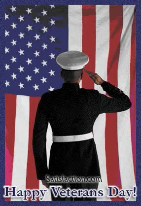 Watch and share Army-officer-saluting-happy-veterans-day.gif GIFs on Gfycat