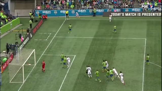 Watch and share Mabiala 2nd Goal Portland V Seattle 30jun2018 GIFs by C.I. DeMann on Gfycat